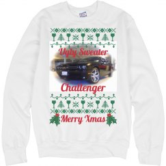 Challenger Xmas - Ugly Sweater Sweatshirt