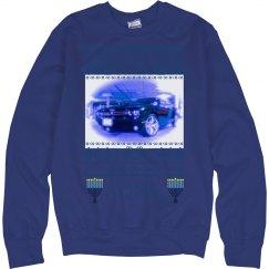 Hanukkah Challenger - Ugly Sweater Sweatshirt