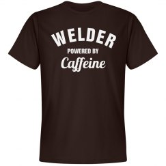 Welder powered by caffeine