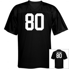 Custom name and number sports jersey