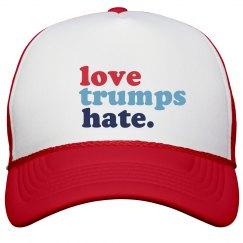 love trumps hate.
