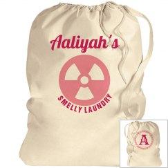 AALIYAH. Laundry bag
