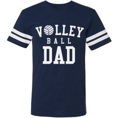Sporty Volleyball Dad Tee
