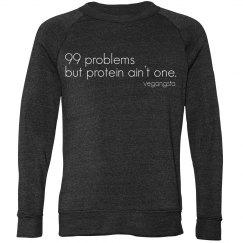 99 problems camp sweatshirt