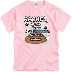 Rachel,my love...