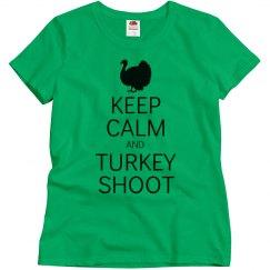 Keep calm turkey shoot