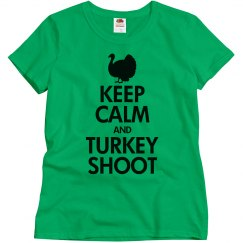 Keep calm turkey shoot