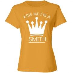 Kiss me I'm a smith