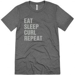 Eat sleep curl repeat