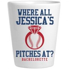 Fun Baseball Bachelorette Shots