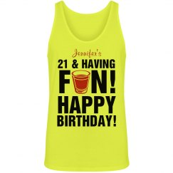 21st Birthday Party Tees