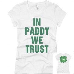 In Paddy We Trust