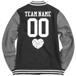 Custom Volleyball Team Varsity Jackets