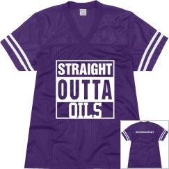 Straight Outta oils Jersey
