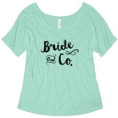 Bride and Co. Bachelorette Tank