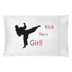 Kick like a girl