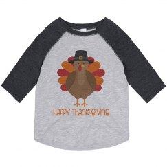 Toddler Happy Thanksgiving Shirt