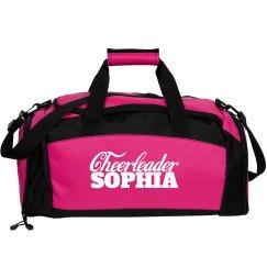 Sophia. Cheerleader bag