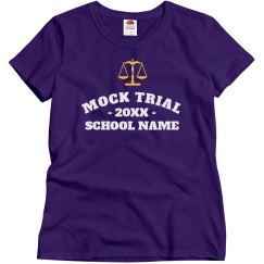 Custom Mock Trial Design