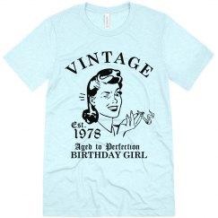 1978 Birthday Girl