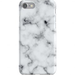 Marble iPhone Case White