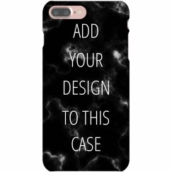 Black Marble Custom iPhone Case