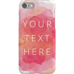 Custom Trendy Watercolor Phone Case