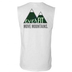 "Men's Green Logo ""Move Mountains"" Moisture Wick Tank"
