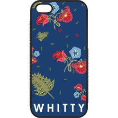 Custom Name Floral Case