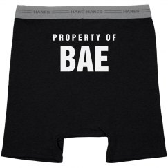 Property Of Bae Mens Valentines