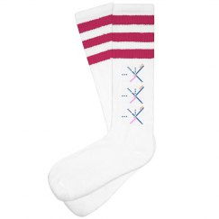 PDX Airport Carpet Socks