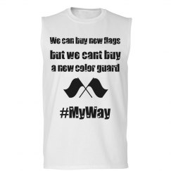 We can buy new flags but we can't buy a new Color Guard