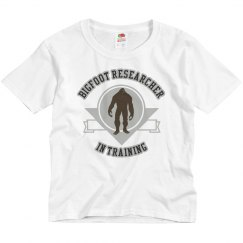 Youth Bigfoot Researcher In Training Tee
