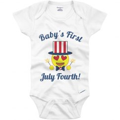 Baby's First July Fourth!