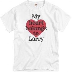 Heart belongs to Larry