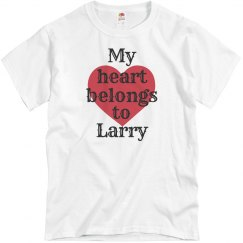 Heart belongs to Larry