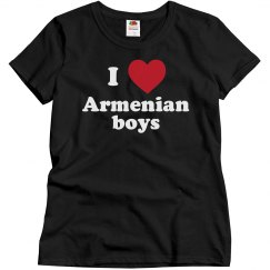 I love Armenian boys!