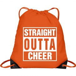 Straight outta cheer bag