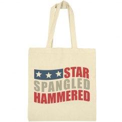 Star Spangled Hammered Beer Bag