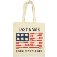 July 4th Annual Party Custom Bag