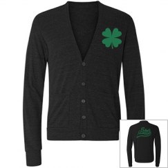 Irish Shamrock Cardigan