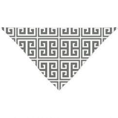 Greek Key Pattern Bandana