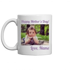 Custom Mothers Day Photo Mug