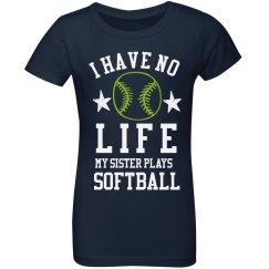 My Sister Plays Softball