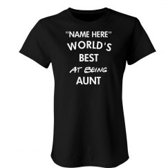 Best at being aunt