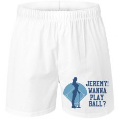 Wanna Play Ball Boxers