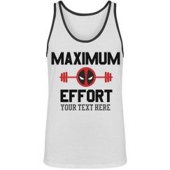 Custom Deadpool Workout