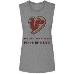 Piece of Meat- muscle tee