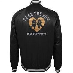 Fear The Cheerleading Bow Custom