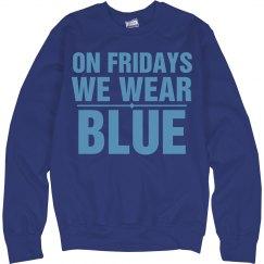 Fridays blue